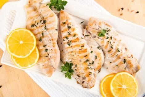 Fisch zählt zu den kalorienarmen Lebensmitteln