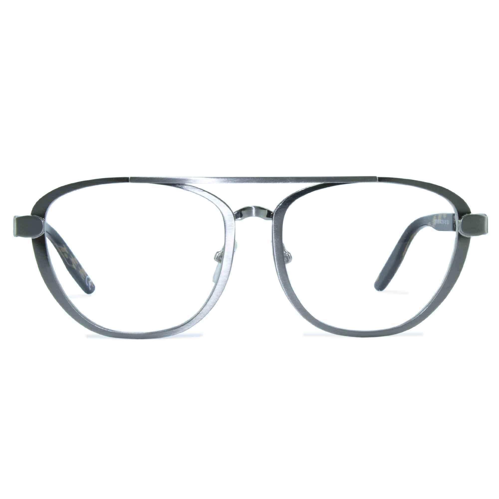 Joiuss dennis silver aviator glasses