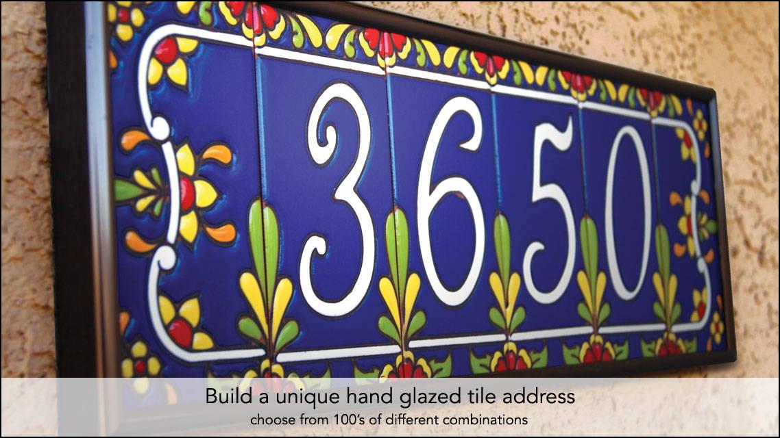 Decorative Ceramic Tile House Numbers  from i.shgcdn.com