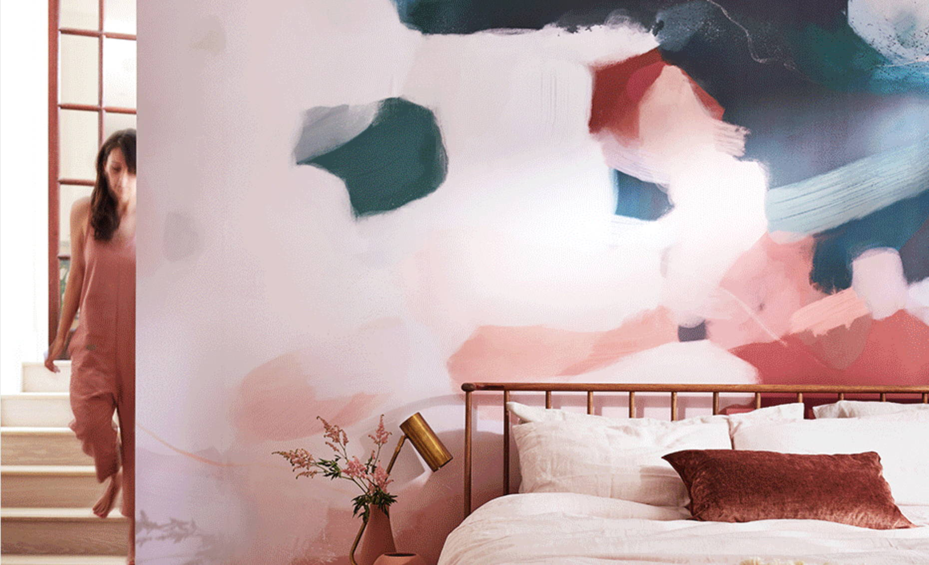 Parima Studio x Minted wall murals, large scale art