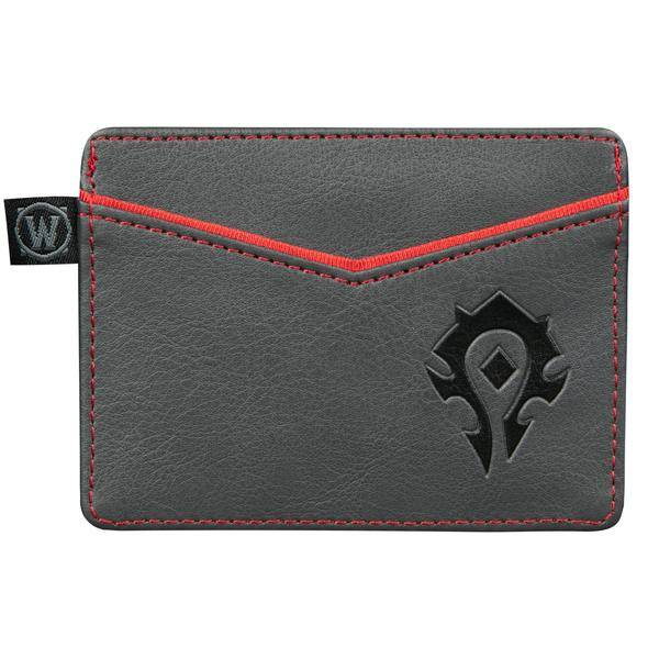 WORLD OF WARCRAFT HORDE TRAVEL CARD WALLET