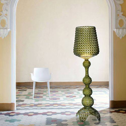 Kartell Lighting: Kabuki Floor Lamp in Green