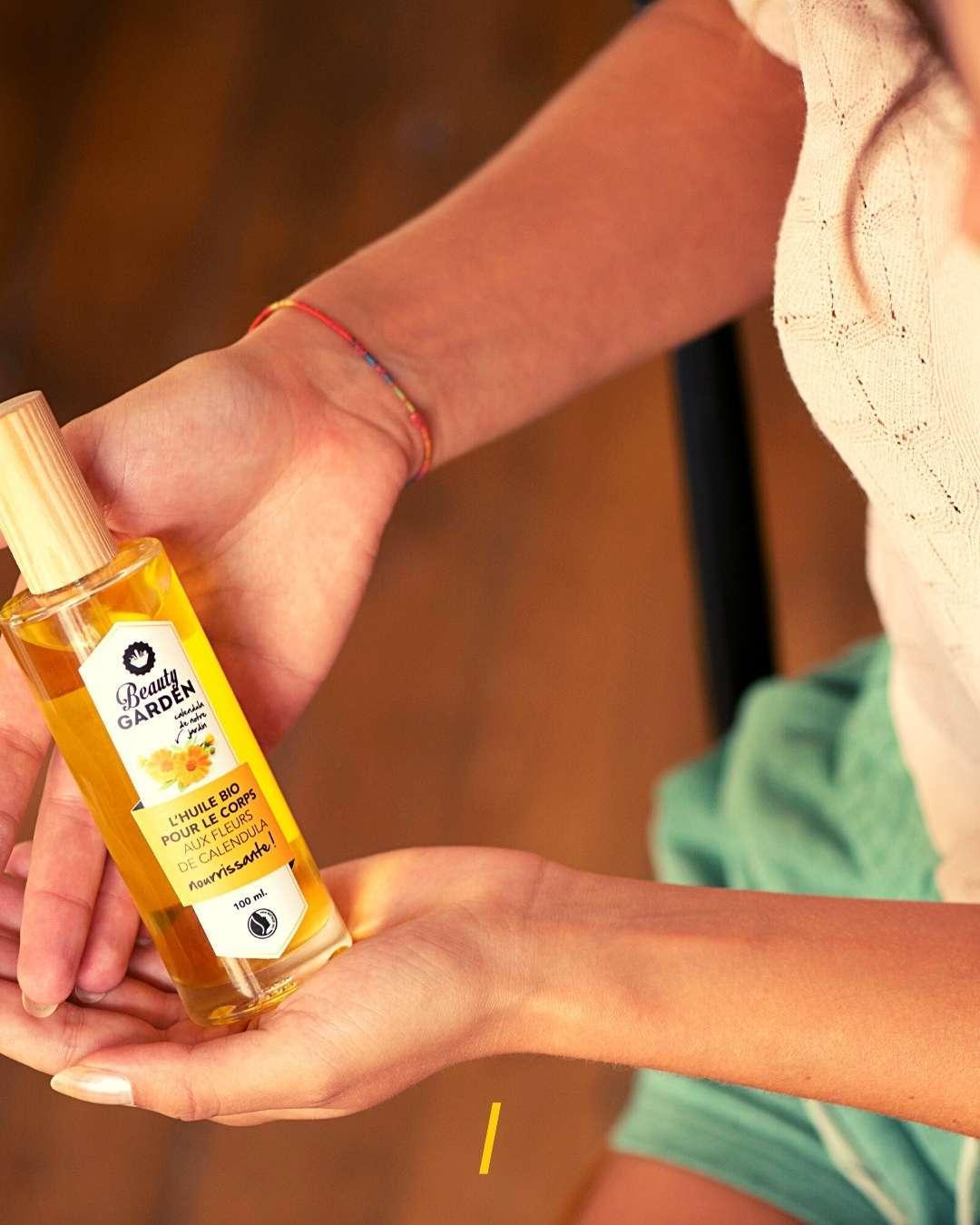 L'huile nourrissante bio - Beauty Garden