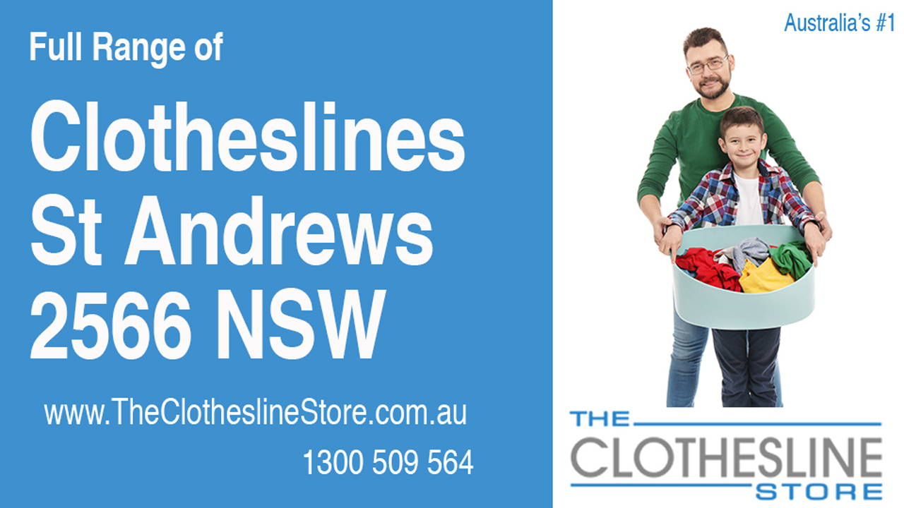 New Clotheslines in St Andrews 2566 NSW
