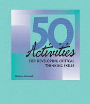 50 Critical Thinking Activities Binder