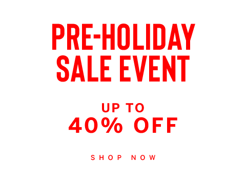 Pre-Holiday Sale Event