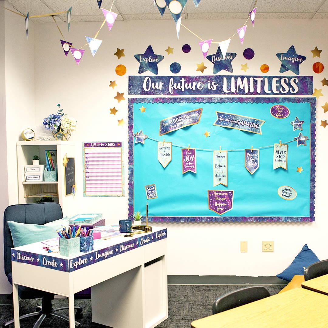 Galaxy Classroom Decorations