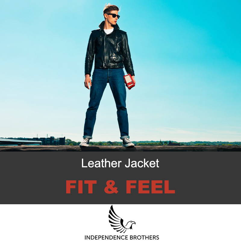 Leather jacket fit and feel