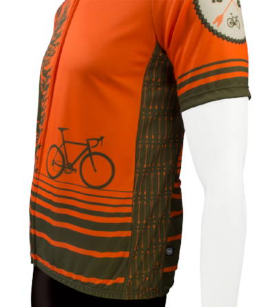 tree adventure cycling jersey side panel