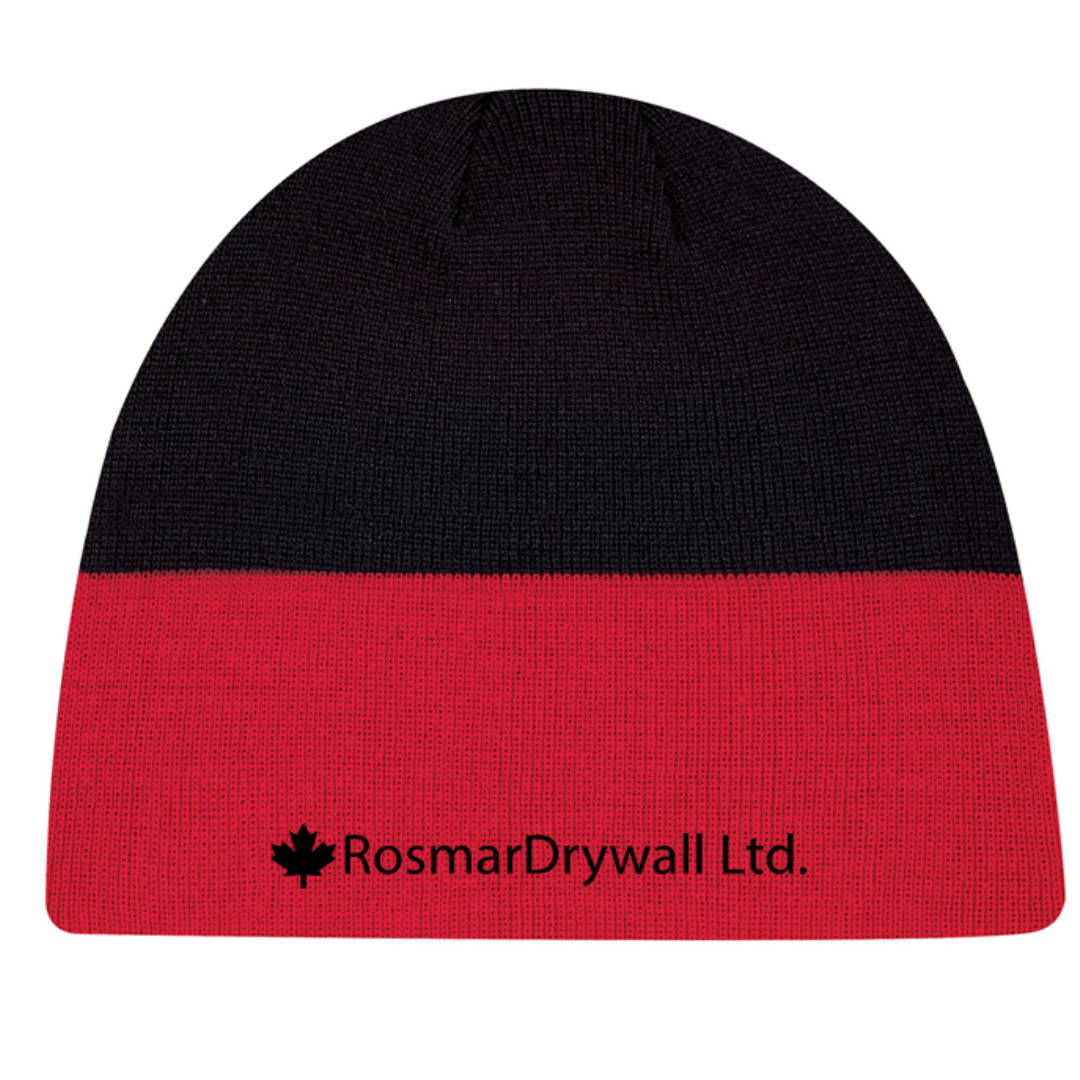 Custom Embroidered Toque Example 3