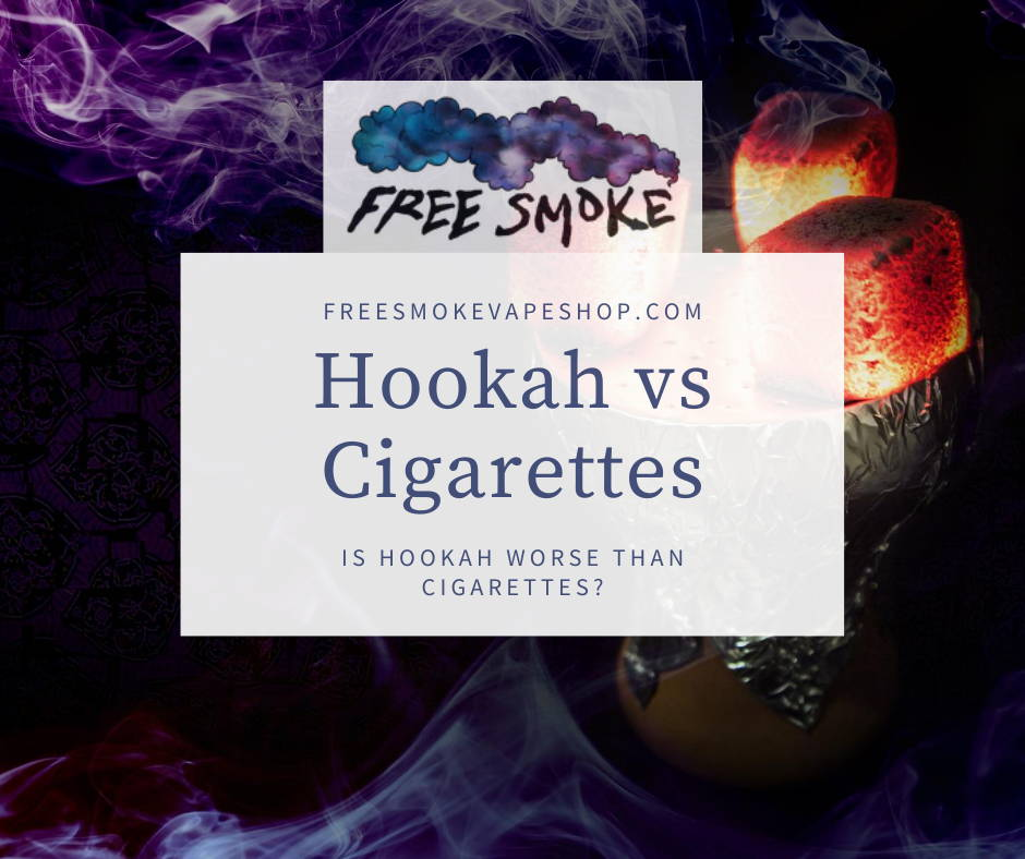 Hookah vs Cigarettes