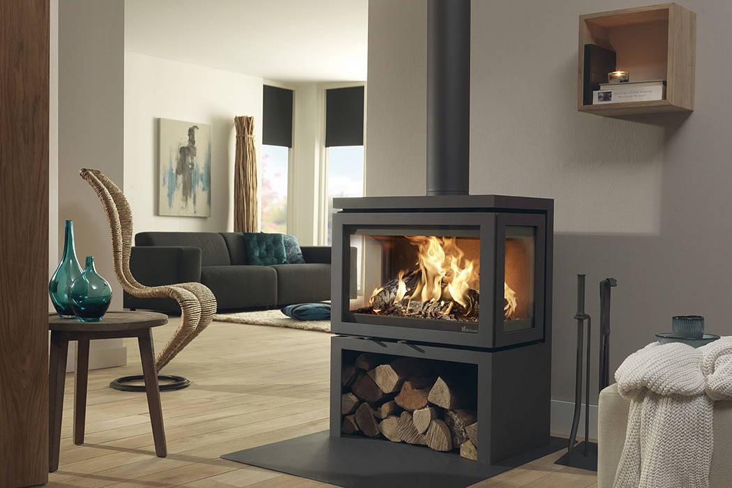 Dik Geurts DG Vidar Triple Wood Burning Stove 8kW