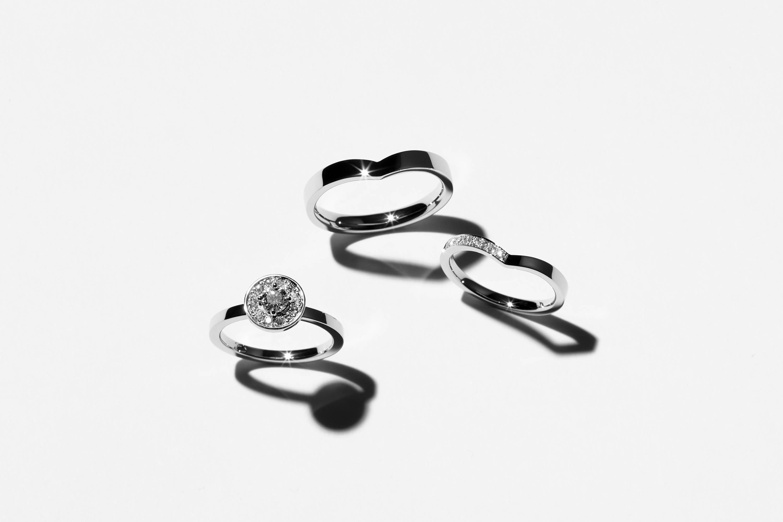 エシカルジュエリー 結婚指輪 婚約指輪 プロポーズ  サステナブル ダイヤモンド HASUNA ハスナ
