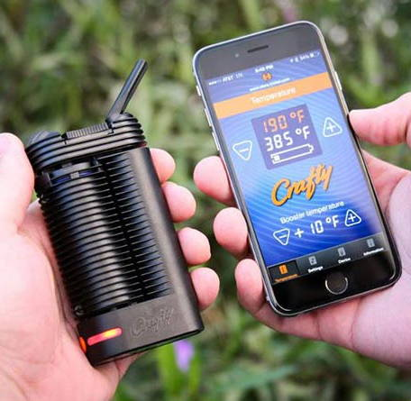 Crafty Vaporizer Smartphone App