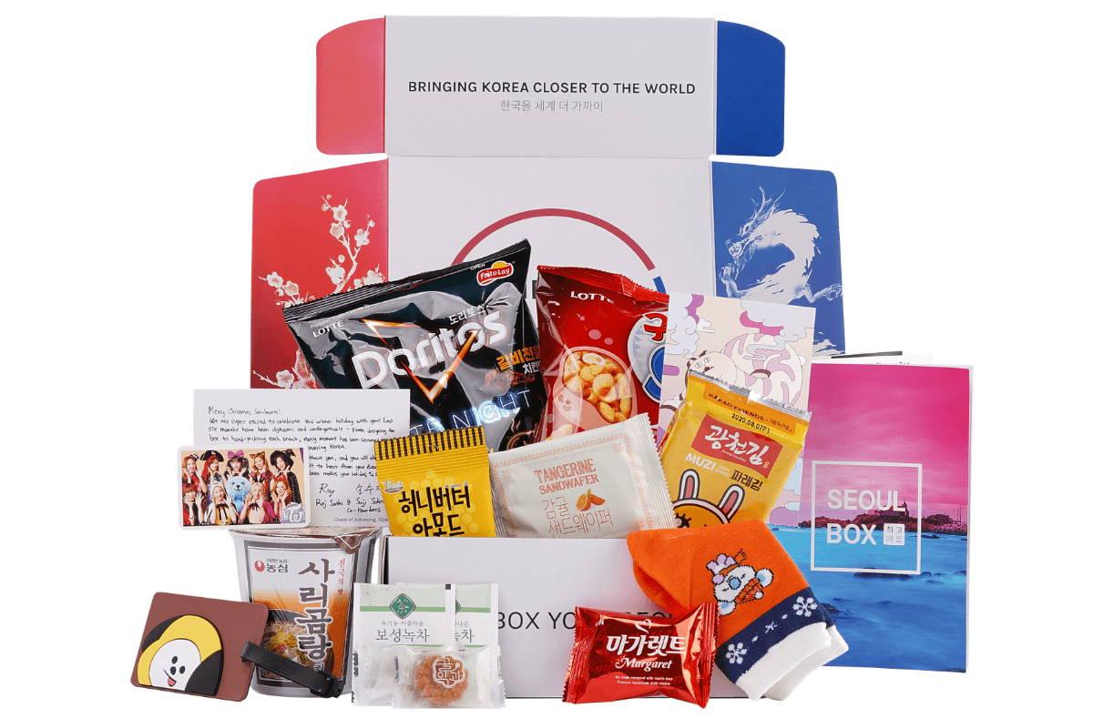 KPOP GIFT KOREA BOX  BTS BOX