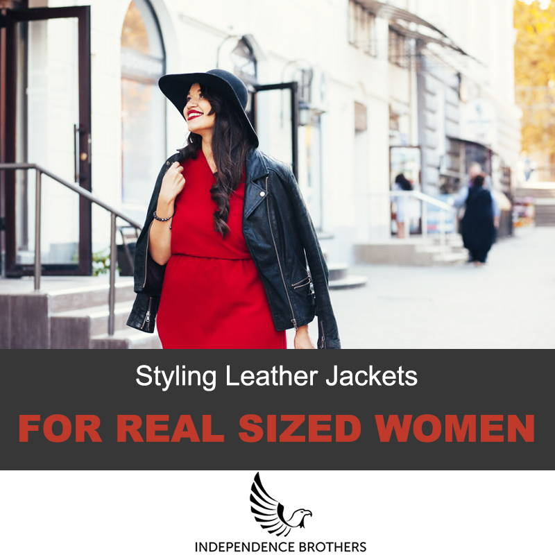 Styling leather jackets