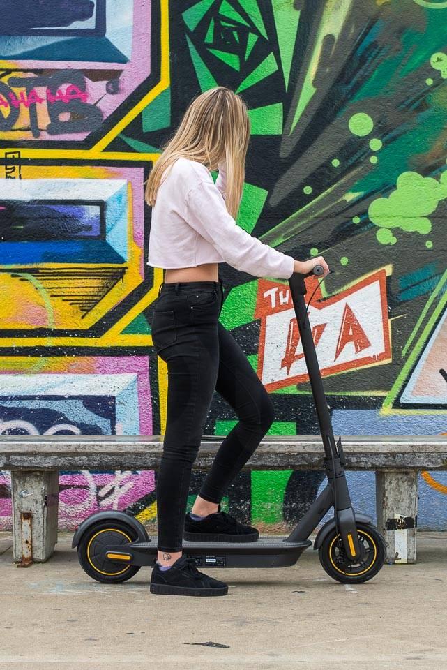 Ninebot Max G30 電動滑板車騎行開始