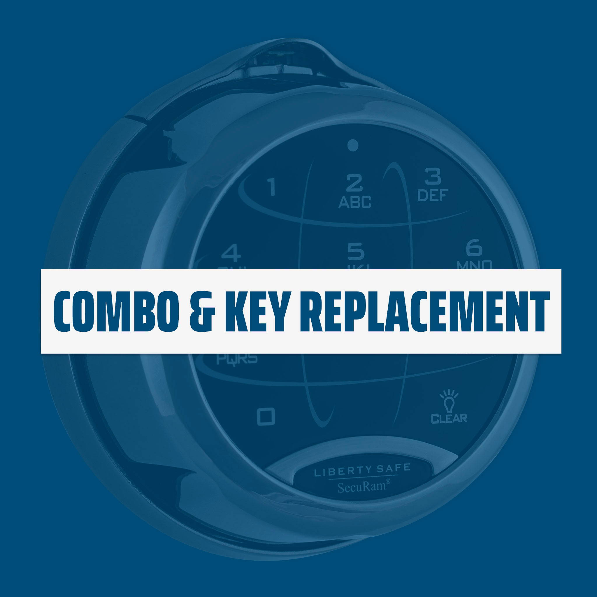 Combo and Key Replacement