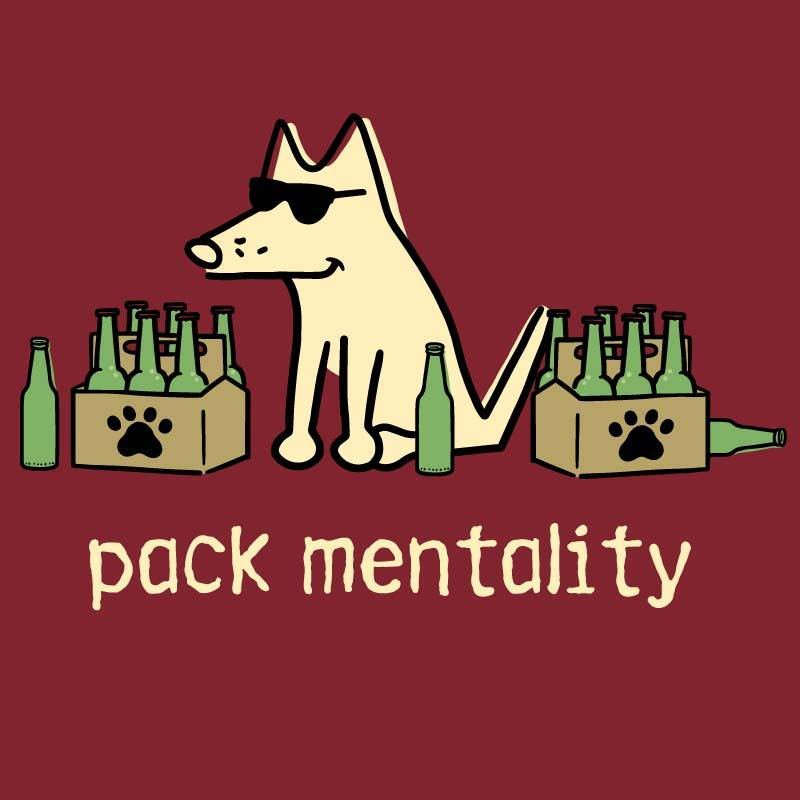 Shop teddy the dog pack mentality