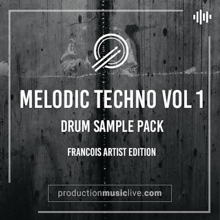 Melodic Techno Vol1 Drum Sample Pack | PML