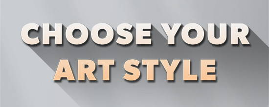 choose your art style banner