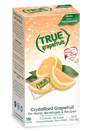 True Grapefruit flavored drinks