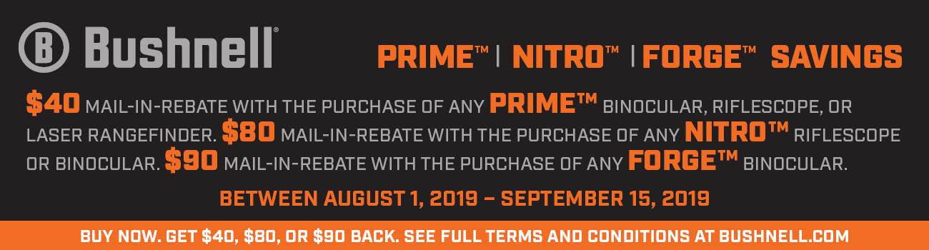 See in-stock Bushnell Prime & Nitro optics