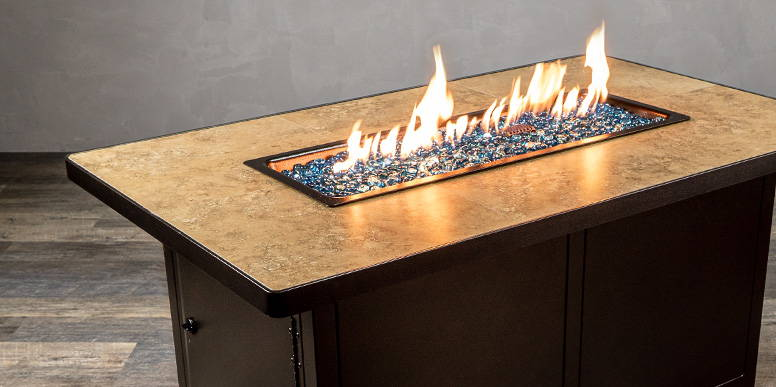 CAPRI CLOSEOUT FIRE TABLE  by O.W. LEE