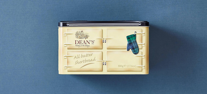 Bild mit Dosen, die für Dean's of Huntley erstellt wurden