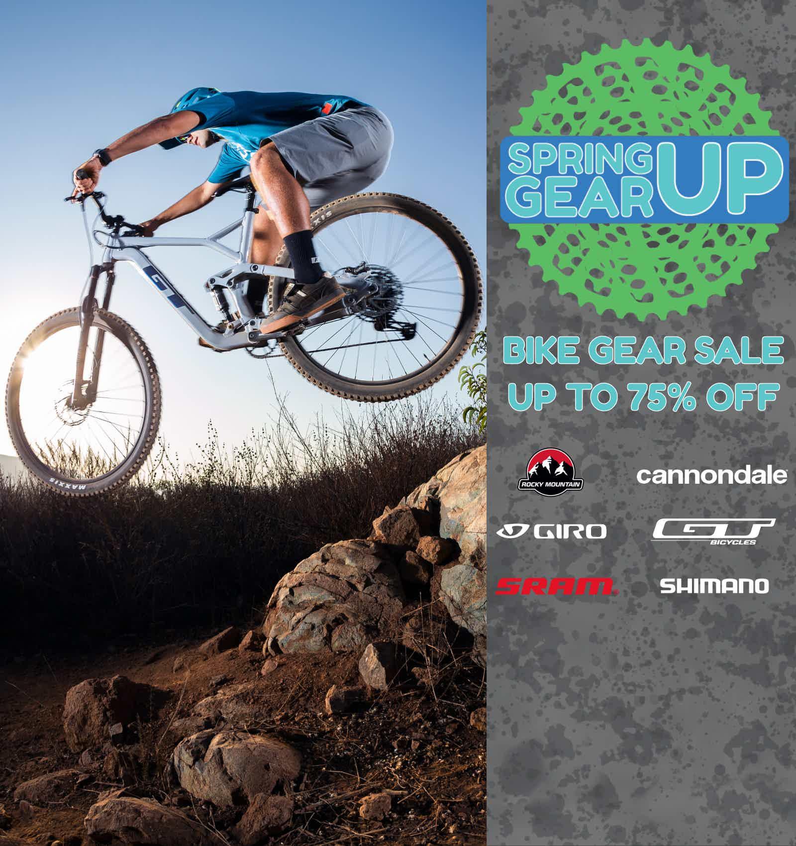 Spring Gear Up Sale