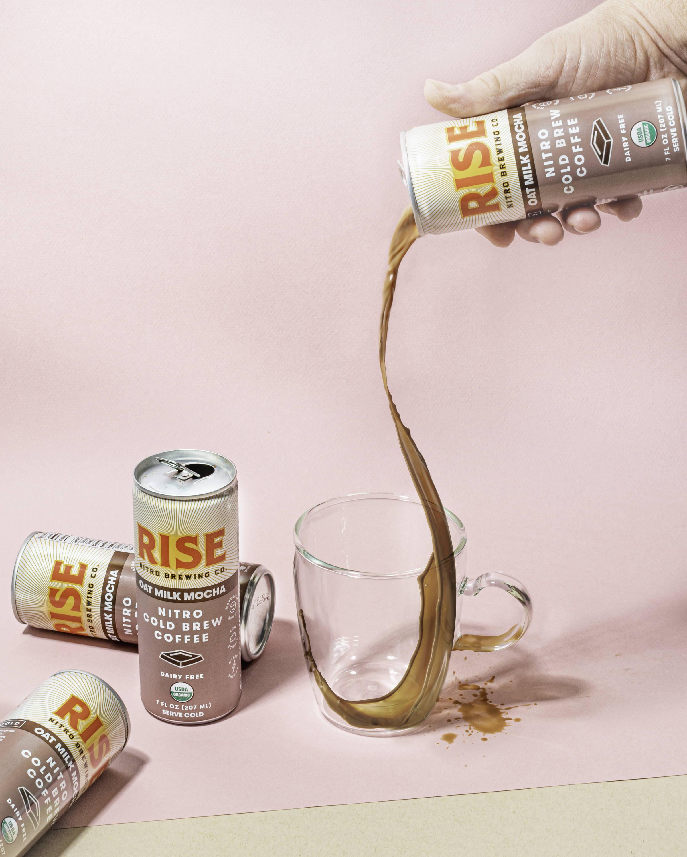 RISE Nitro Brewing Co. Oat Milk Mocha