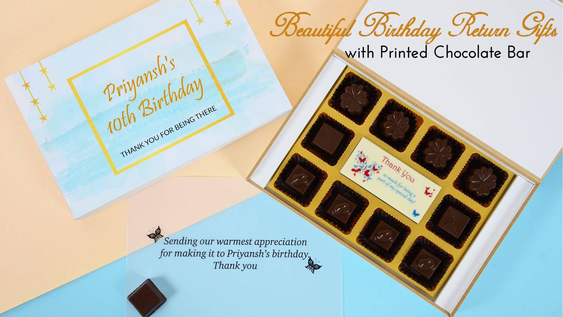 Birthday Return Gifts – CHOCOCRAFT