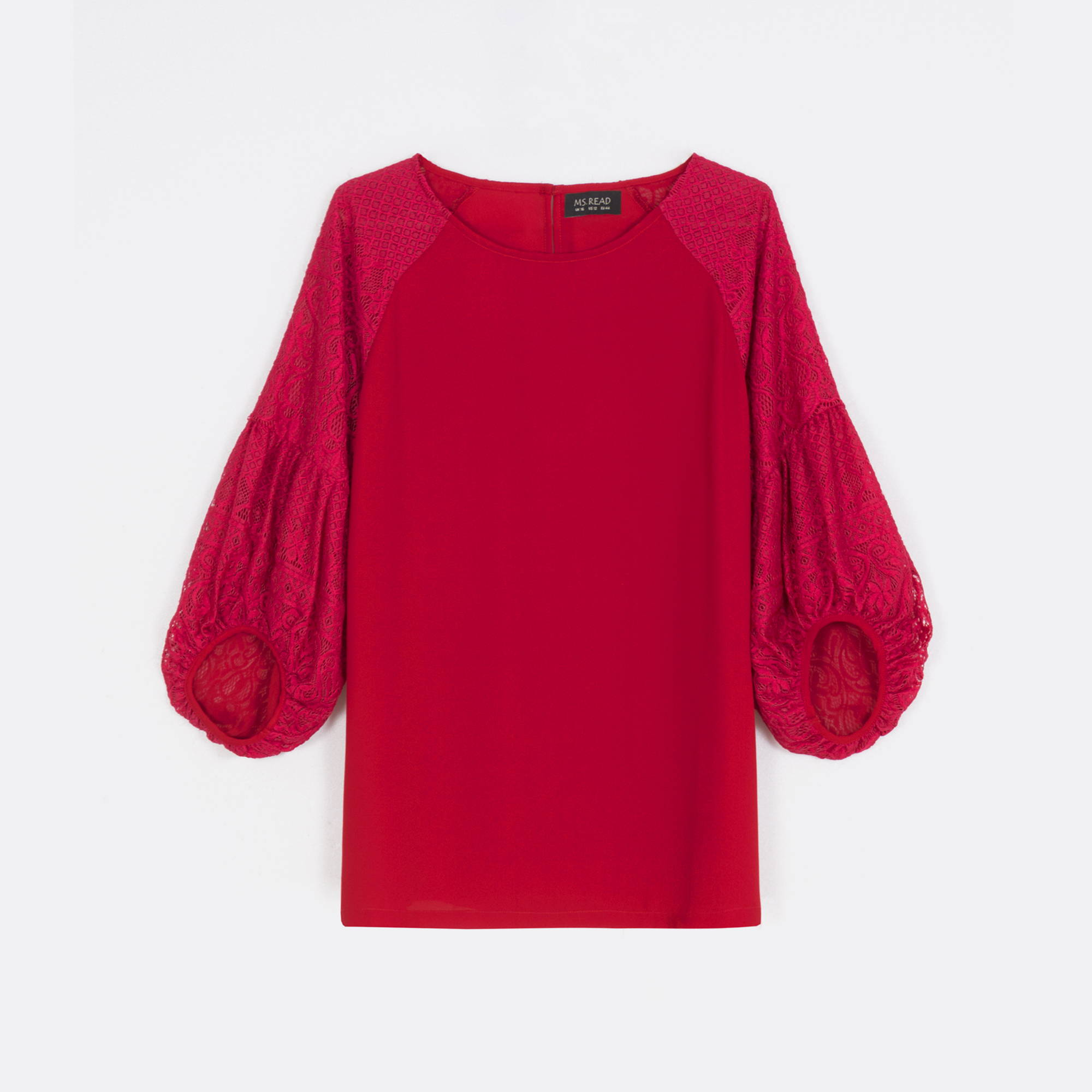 MS. READ Laced Sleeve Top