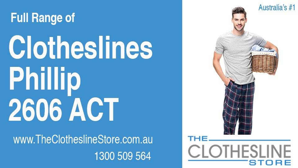 New Clotheslines in Phillip ACT 2606
