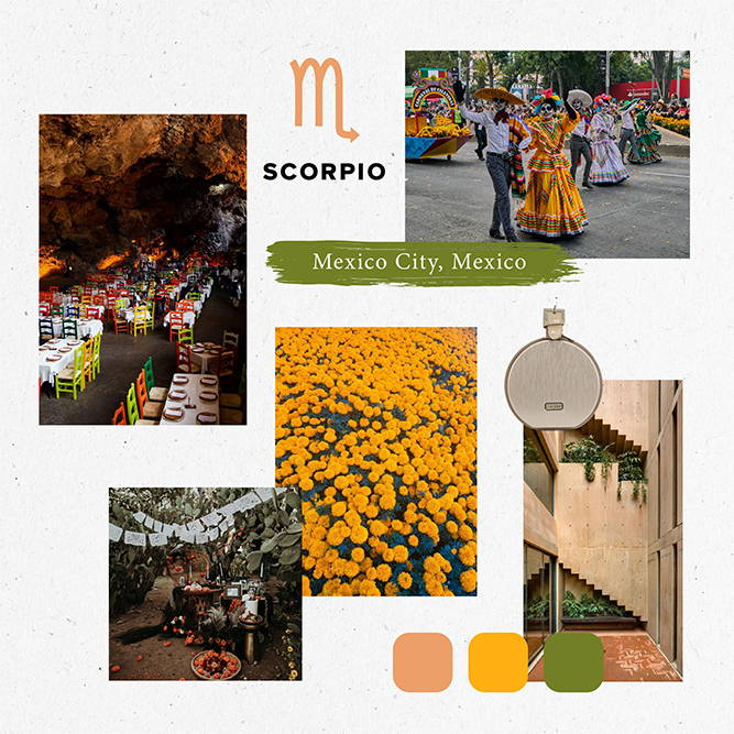 Horoscope, 2020, Travel, scorpio, mexico city, mexico, mini baye