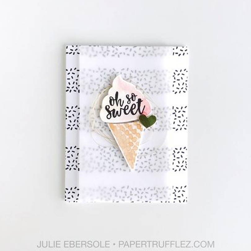 UWF Sweet Sprinkles card by Julie Ebersole