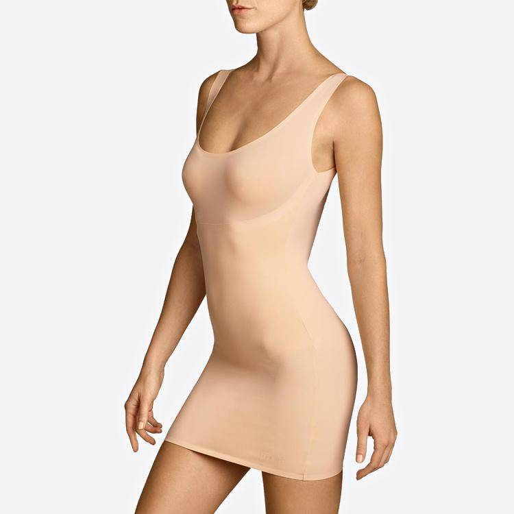 Shapewear Shaping-Dress Mieder-Kleid bauchweg figurformend