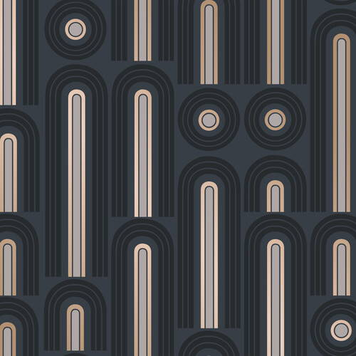 Tempaper Wave Pop Removable Wallpaper