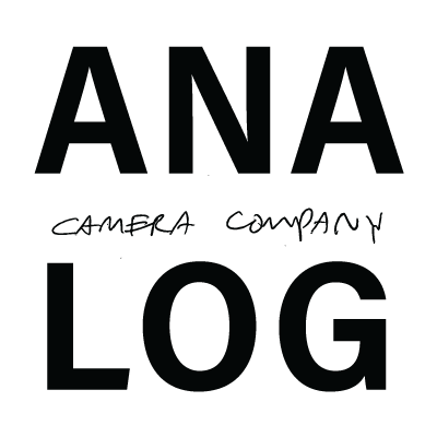 Analog disposable camera logo