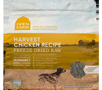 Harvest Chicken Freeze Dried Raw Dog Food | Open Farm