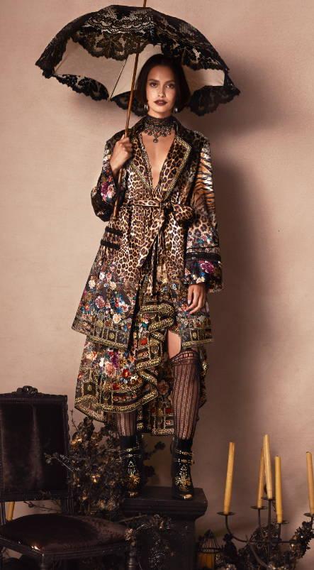 camilla leopard jacket