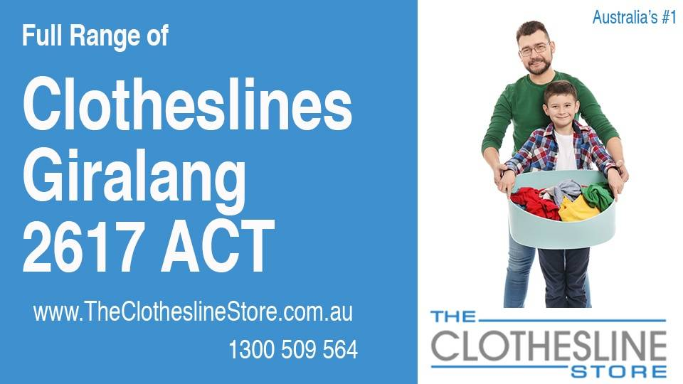 New Clotheslines in Giralang ACT 2617