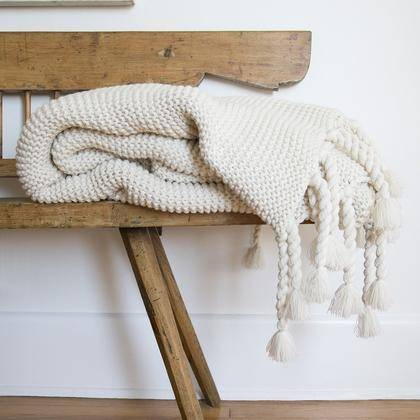 Modern Home Decor - Throw Blankets, Trestles Oversized Throw Blanket, Trestles Throw