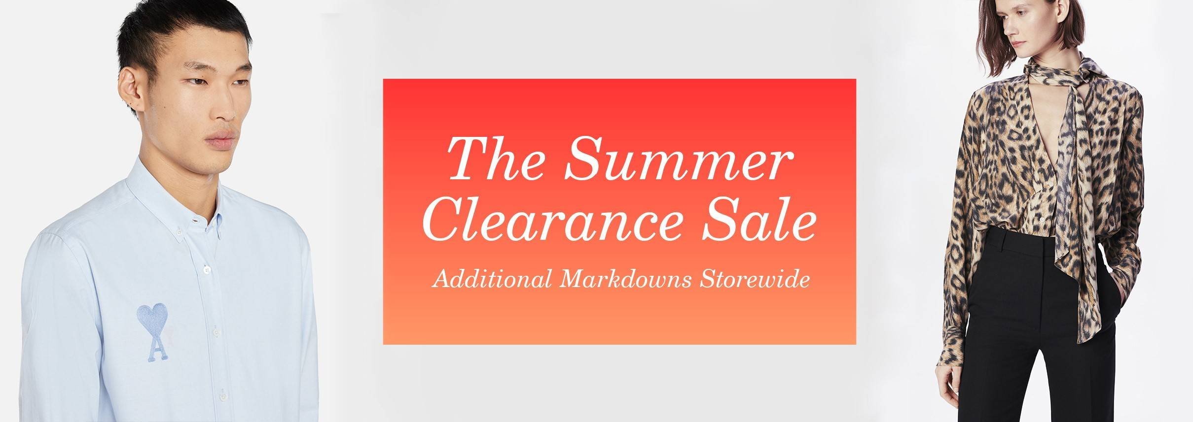 The Summer Clearance Sale
