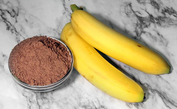 Chocamine Banana Ice Cream Ingredients