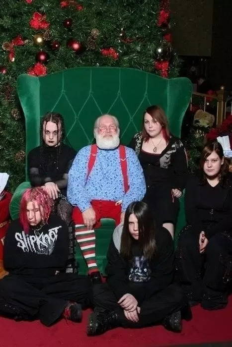Goth Christmas Card