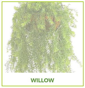 ARTIFICIAL WILLOW PLANTS