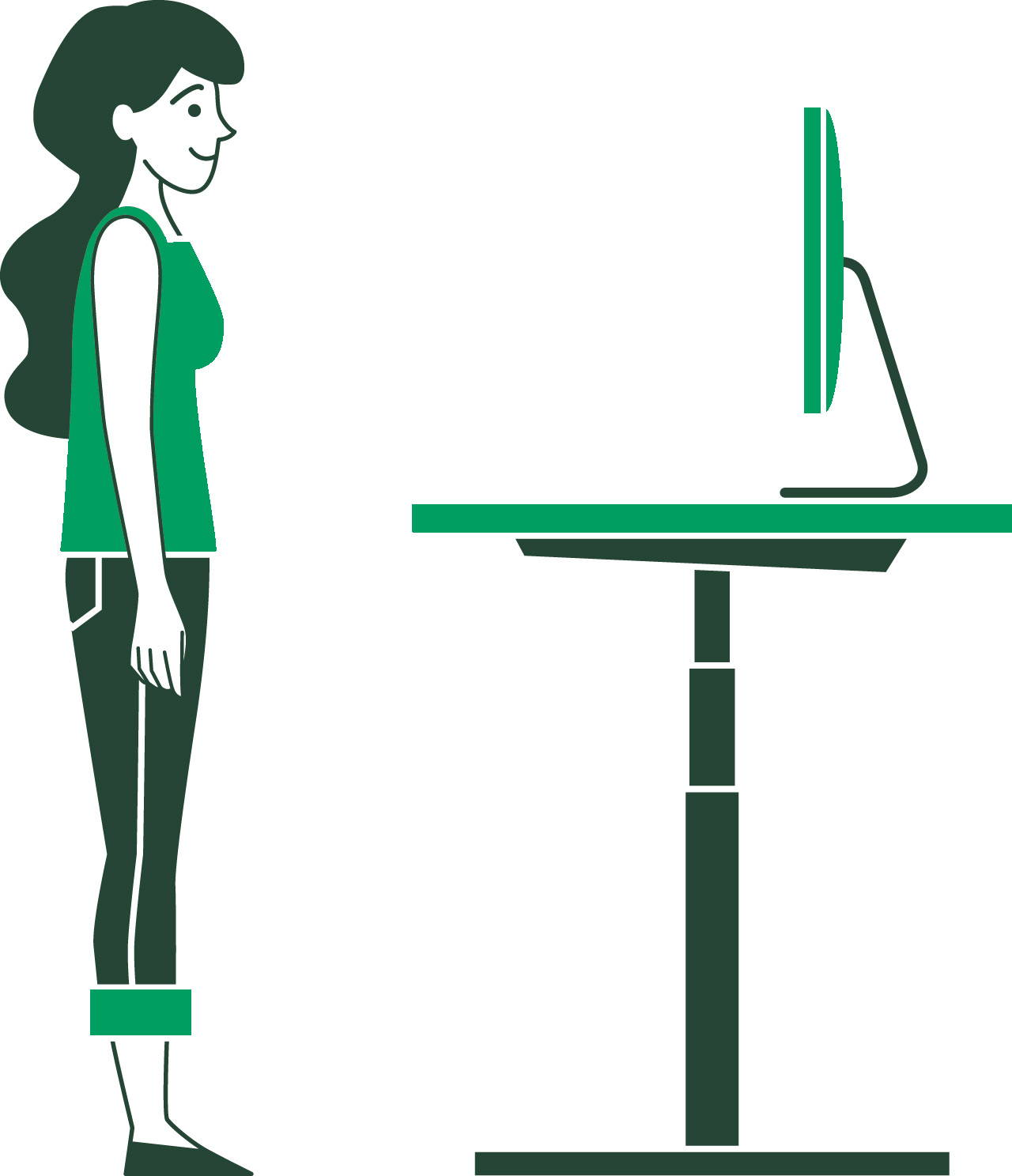 How To Use My Sit Stand Desk Correctly Ergonofis