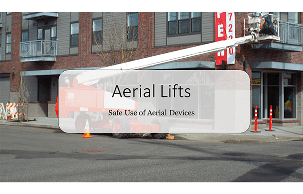 Aerial Lift PowerPoint Slide