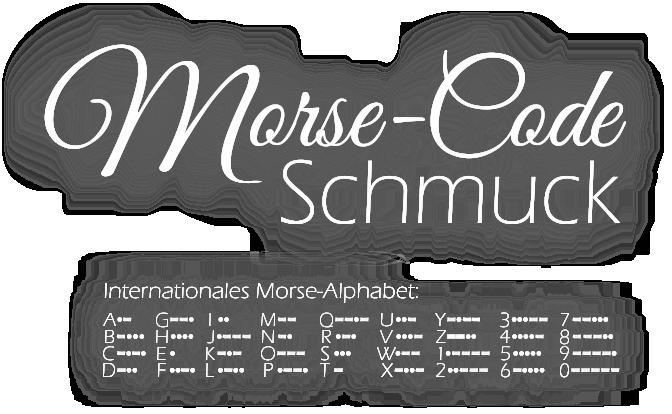 Morse-Code Alphabet - Morsezeichen Morsezahlen